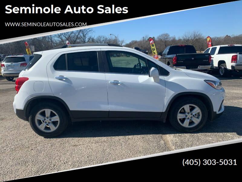 2017 Chevrolet Trax for sale at Seminole Auto Sales in Seminole OK