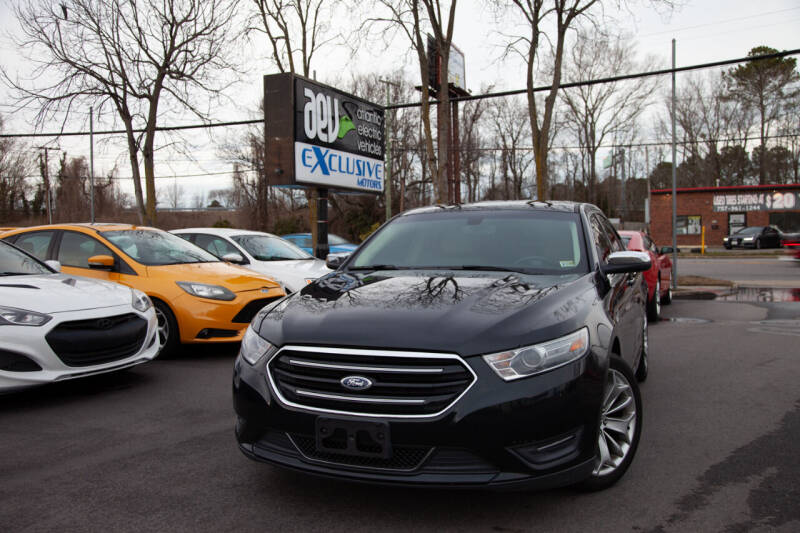 2014 Ford Taurus for sale at EXCLUSIVE MOTORS in Virginia Beach VA