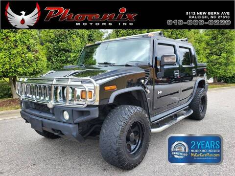 2006 HUMMER H2 SUT for sale at Phoenix Motors Inc in Raleigh NC