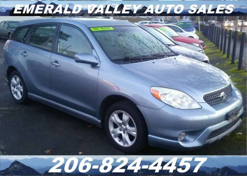2005 Toyota Matrix for sale at Emerald Valley Auto Sales in Des Moines WA