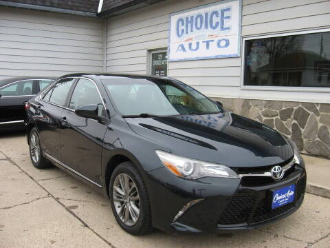 2017 Toyota Camry for sale at Choice Auto in Carroll IA