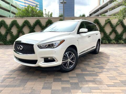 2017 Infiniti QX60 for sale at ROGERS MOTORCARS in Houston TX