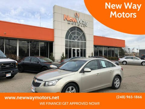 2014 Chevrolet Cruze for sale at New Way Motors in Ferndale MI