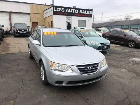 2010 Hyundai Sonata for sale at Lo's Auto Sales in Cincinnati OH