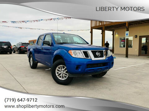 2015 Nissan Frontier for sale at LIBERTY MOTORS in Pueblo West CO