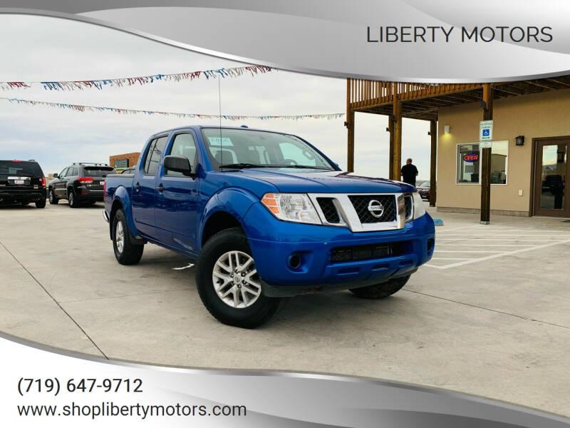 2015 Nissan Frontier for sale at LIBERTY MOTORS in Pueblo West CO