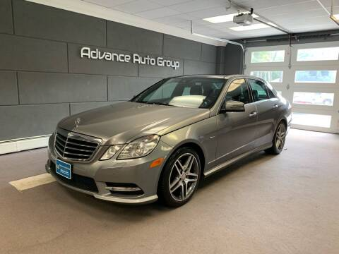 2012 Mercedes-Benz E-Class for sale at Advance Auto Group, LLC in Chichester NH