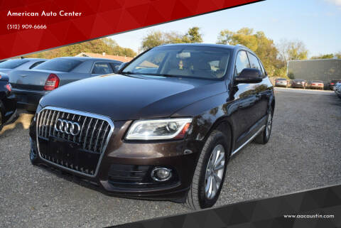 2013 Audi Q5 for sale at American Auto Center in Austin TX