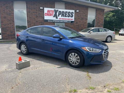 2017 Hyundai Elantra for sale at Auto Credit Xpress in Benton AR