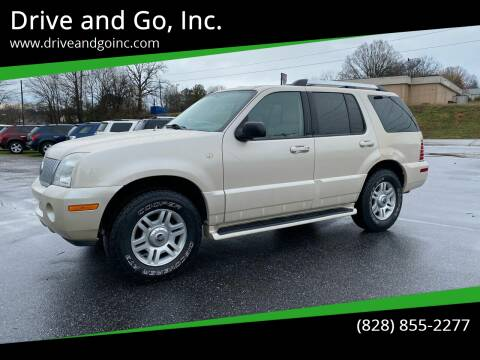2005 Mercury Mountaineer for sale at Drive and Go, Inc. in Hickory NC