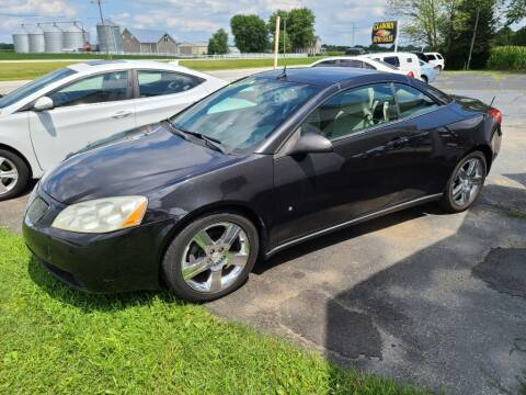2009 Pontiac G6 for sale at Claborn Motors, LLC. in Cambridge City IN
