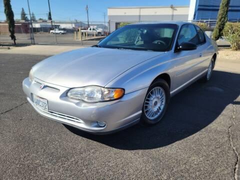 2001 Chevrolet Monte Carlo for sale at The Auto Barn in Sacramento CA