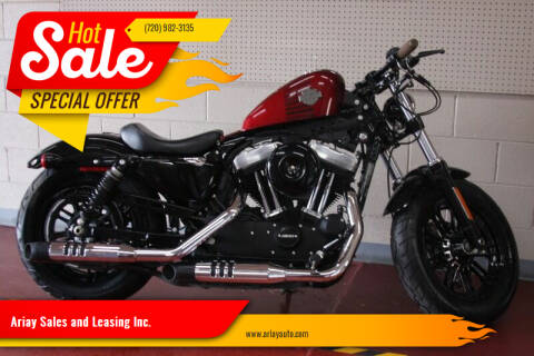 2016 Harley-Davidson XL1200X Sportster Forty-Eight for sale at Ariay Sales and Leasing Inc. in Denver CO