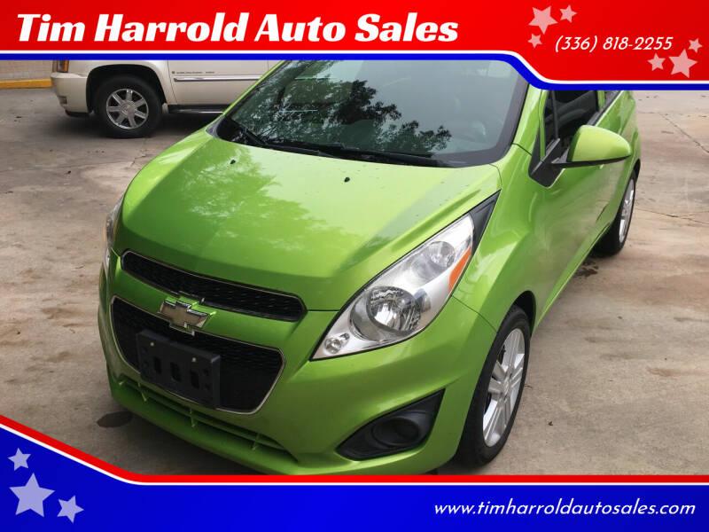 2014 Chevrolet Spark for sale at Tim Harrold Auto Sales in Wilkesboro NC