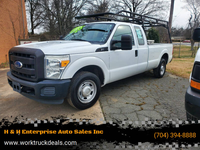 2011 Ford F-250 Super Duty for sale at H & H Enterprise Auto Sales Inc in Charlotte NC
