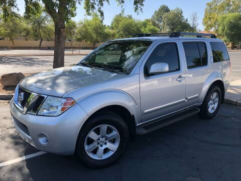 2008 Nissan Pathfinder for sale at Ideal Cars in Mesa AZ