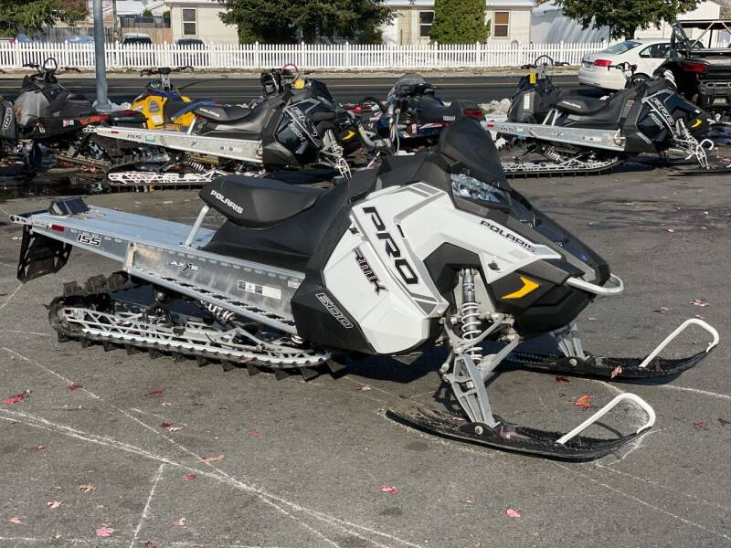 2018 Polaris Rmk Pro Axys 600 155 for sale at Harper Motorsports-Powersports in Post Falls ID