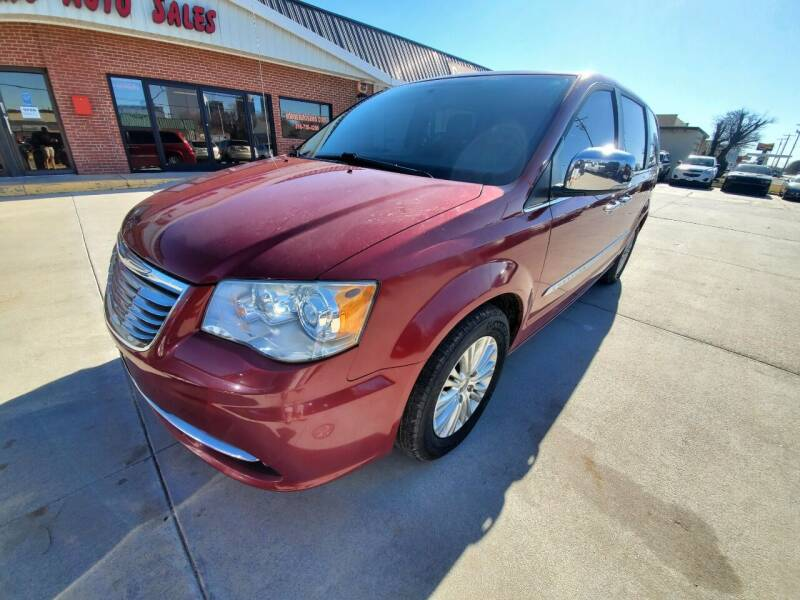 2014 Chrysler Town and Country for sale at Eden's Auto Sales in Valley Center KS