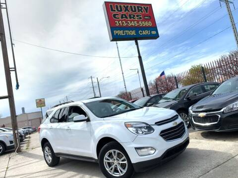 2016 Chevrolet Equinox for sale at Dymix Used Autos & Luxury Cars Inc in Detroit MI