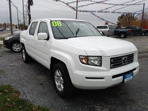 2008 Honda Ridgeline for sale at Arak Auto Group in Bourbonnais IL