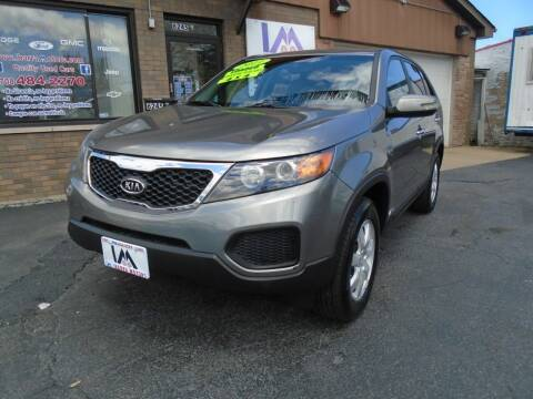 2011 Kia Sorento for sale at IBARRA MOTORS INC in Cicero IL