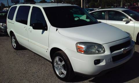 2006 Chevrolet Uplander for sale at Pinellas Auto Brokers in Saint Petersburg FL