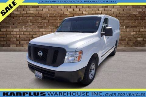 2013 Nissan NV Cargo for sale at Karplus Warehouse in Pacoima CA