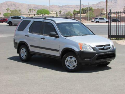 2002 Honda CR-V for sale at Best Auto Buy in Las Vegas NV