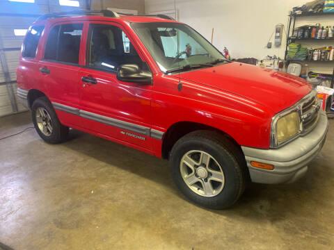 2004 Chevrolet Tracker for sale at KP'S Cars in Staunton VA