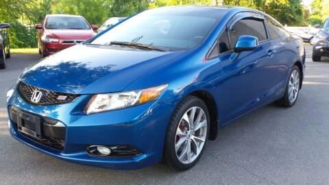 2012 Honda Civic for sale at JBR Auto Sales in Albany NY