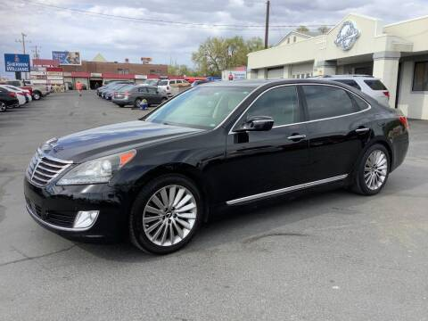 2016 Hyundai Equus for sale at Beutler Auto Sales in Clearfield UT