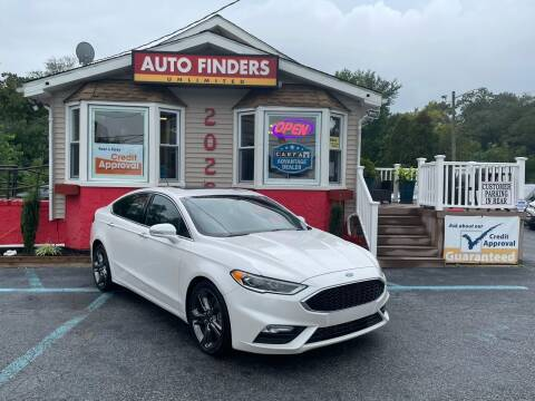 2017 Ford Fusion for sale at Auto Finders Unlimited LLC in Vineland NJ