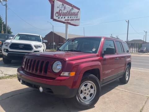 2015 Jeep Patriot for sale at Southwest Car Sales in Oklahoma City OK