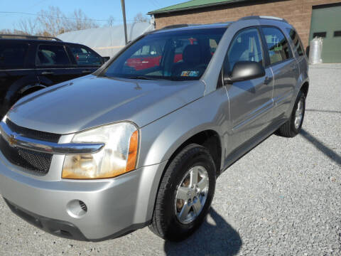 2008 Chevrolet Equinox for sale at Sleepy Hollow Motors in New Eagle PA