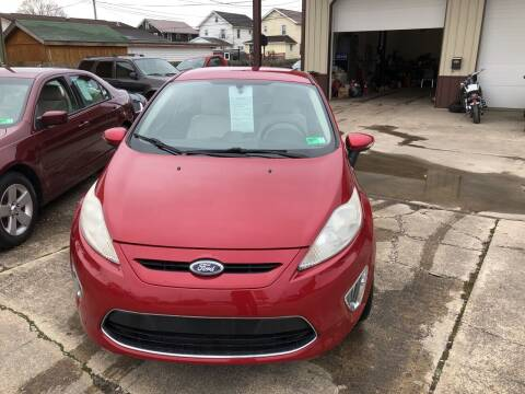 2011 Ford Fiesta for sale at ADKINS PRE OWNED CARS LLC in Kenova WV