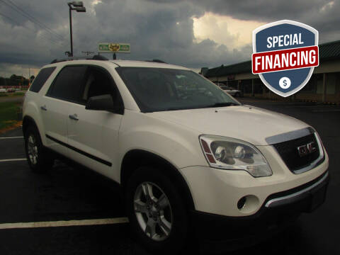 2010 GMC Acadia for sale at Auto World in Carbondale IL