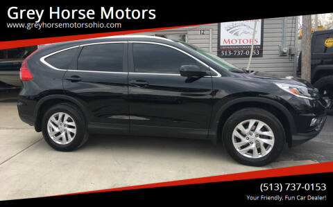 2015 Honda CR-V for sale at Grey Horse Motors in Hamilton OH