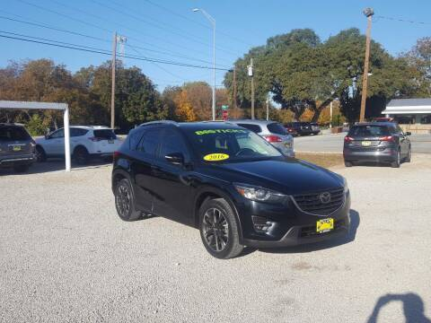 2016 Mazda CX-5 for sale at Bostick's Auto & Truck Sales in Brownwood TX