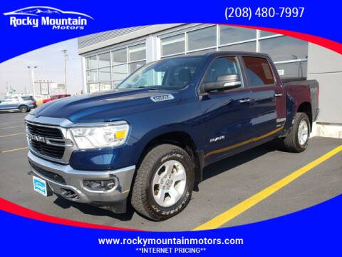 2019 RAM Ram Pickup 1500 for sale at Rocky Mountain Motors in Idaho Falls ID