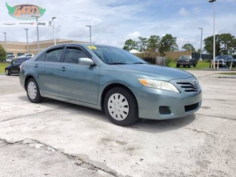 2010 Toyota Camry for sale at GATOR'S IMPORT SUPERSTORE in Melbourne FL