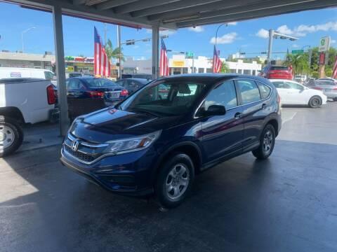 2015 Honda CR-V for sale at American Auto Sales in Hialeah FL