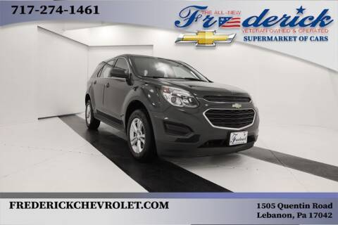2017 Chevrolet Equinox for sale at Lancaster Pre-Owned in Lancaster PA
