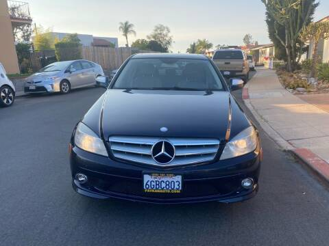 2009 Mercedes-Benz C-Class for sale at Paykan Auto Sales Inc in San Diego CA