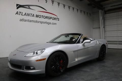 2009 Chevrolet Corvette for sale at Atlanta Motorsports in Roswell GA