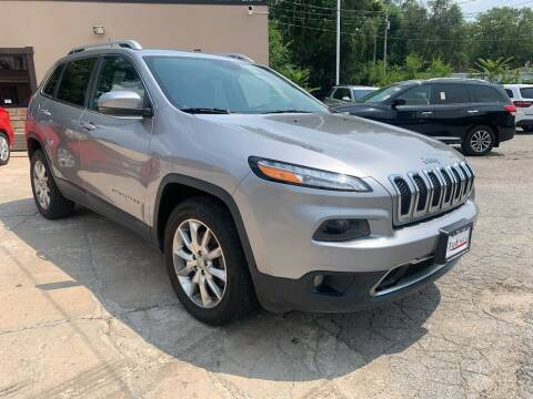 2014 Jeep Cherokee for sale at Triangle Auto Sales in Omaha NE