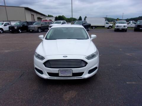 2013 Ford Fusion for sale at Welkes Auto Sales & Service in Eau Claire WI