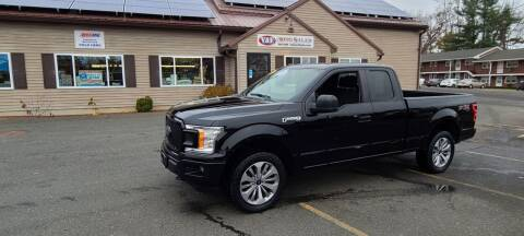 2018 Ford F-150 for sale at V & F Auto Sales in Agawam MA