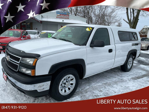 2006 Chevrolet Silverado 1500 for sale at Liberty Auto Sales in Elgin IL