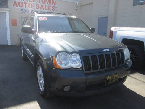 2008 Jeep Grand Cherokee for sale at Small Town Auto Sales in Hazleton PA