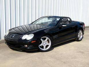 2003 Mercedes-Benz SL-Class for sale at Fall Creek Motor Cars in Humble TX